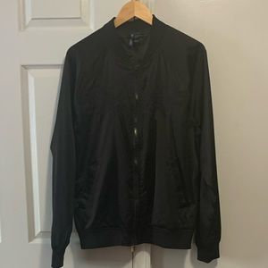 H&M Men's Dragon Stitching Nylon Jacket - Large
